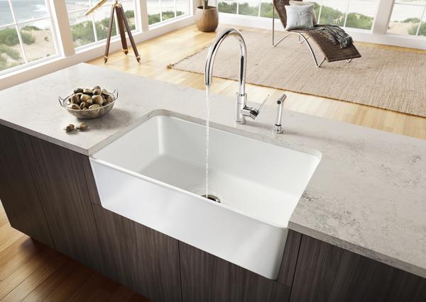 Bancada cocina de m rmol granito o piedra artificial for Encimera cocina marmol o granito
