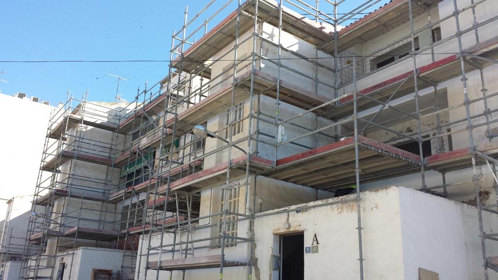rehabilitaci n viviendas en calle sax alicante On presupuesto rehabilitacion vivienda