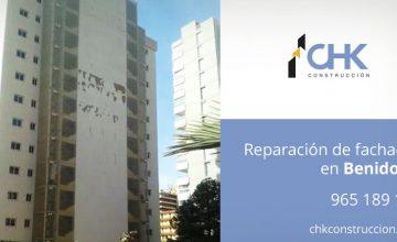 Reparación y rehabilitación de fachadas en Benidorm y Finestrat