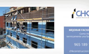 Mejorar fachadas termicamente Alicante Benidorm