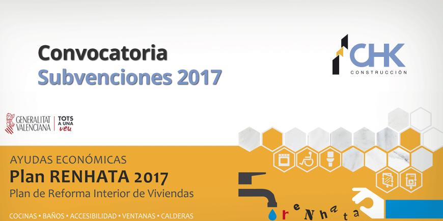 Plan RENHATA 2017 Constructora Alicante